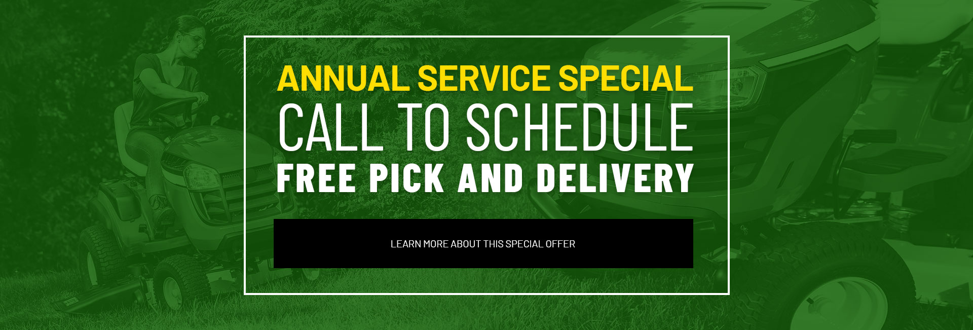 Annual Service Special - Learn More