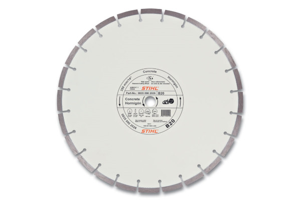 Stihl D-B20 Diamond Wheel - Quality Grade for sale at Carroll's Service Center